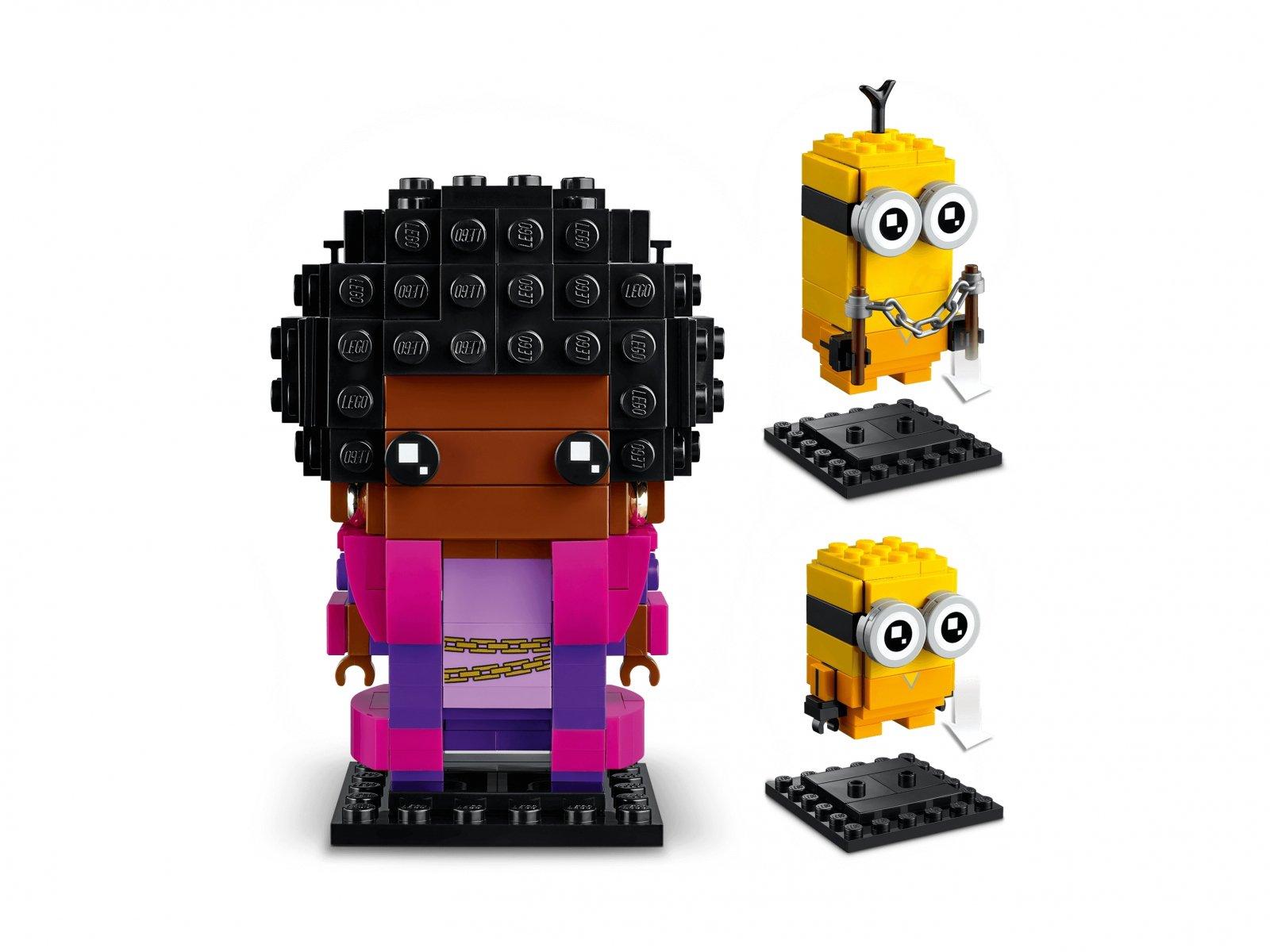 LEGO BrickHeadz 40421 Belle Bottom, Kevin i Bob