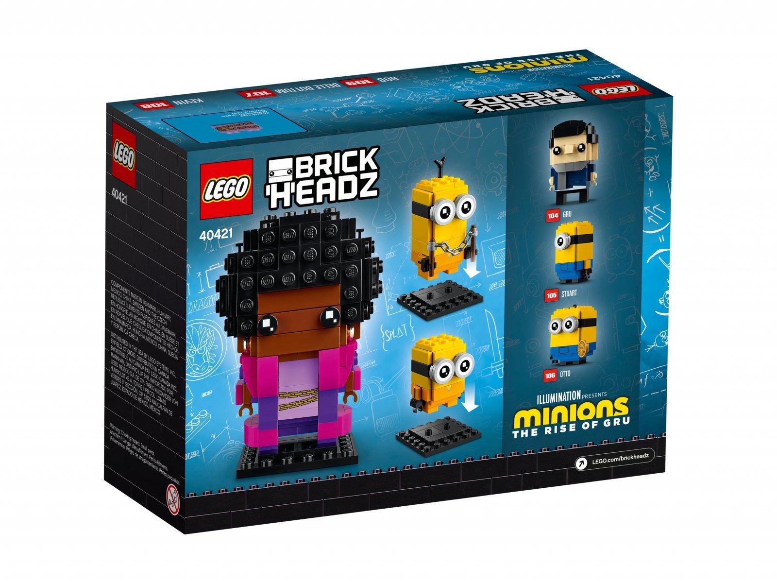 LEGO 40421 Belle Bottom, Kevin i Bob