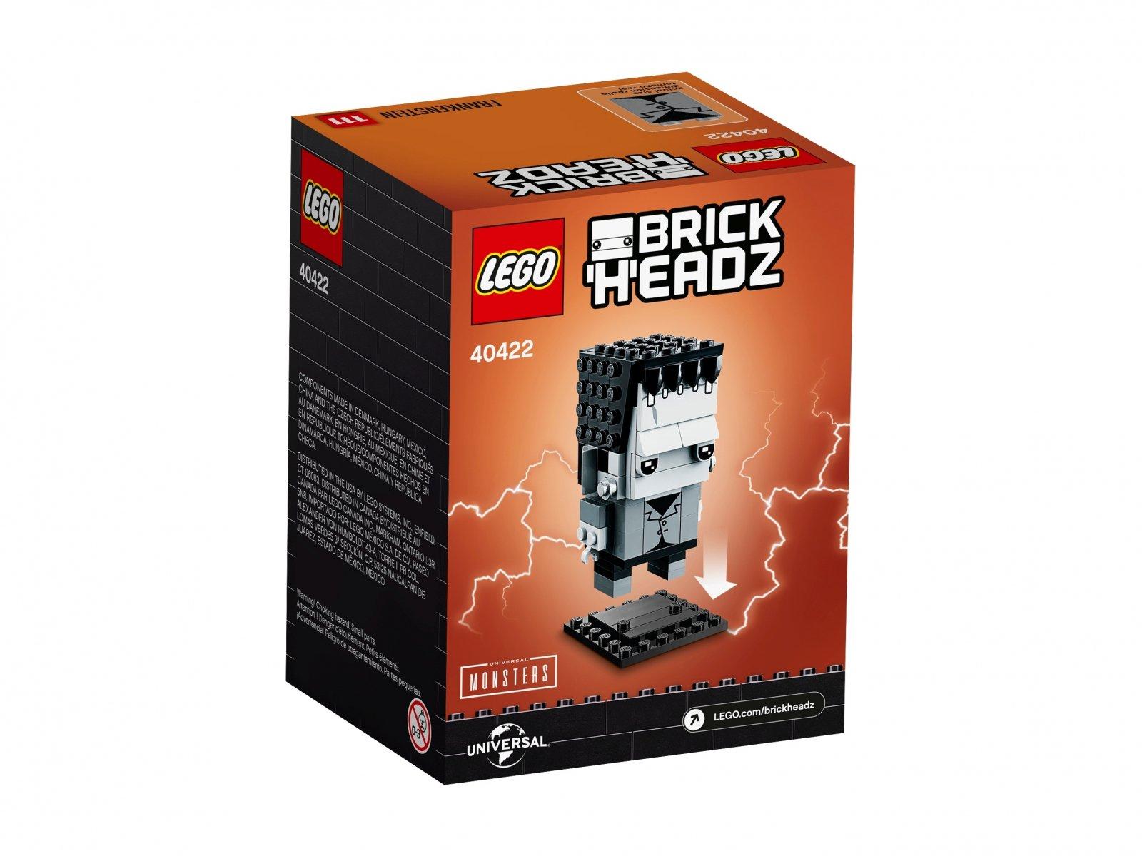 LEGO 40422 BrickHeadz Frankenstein