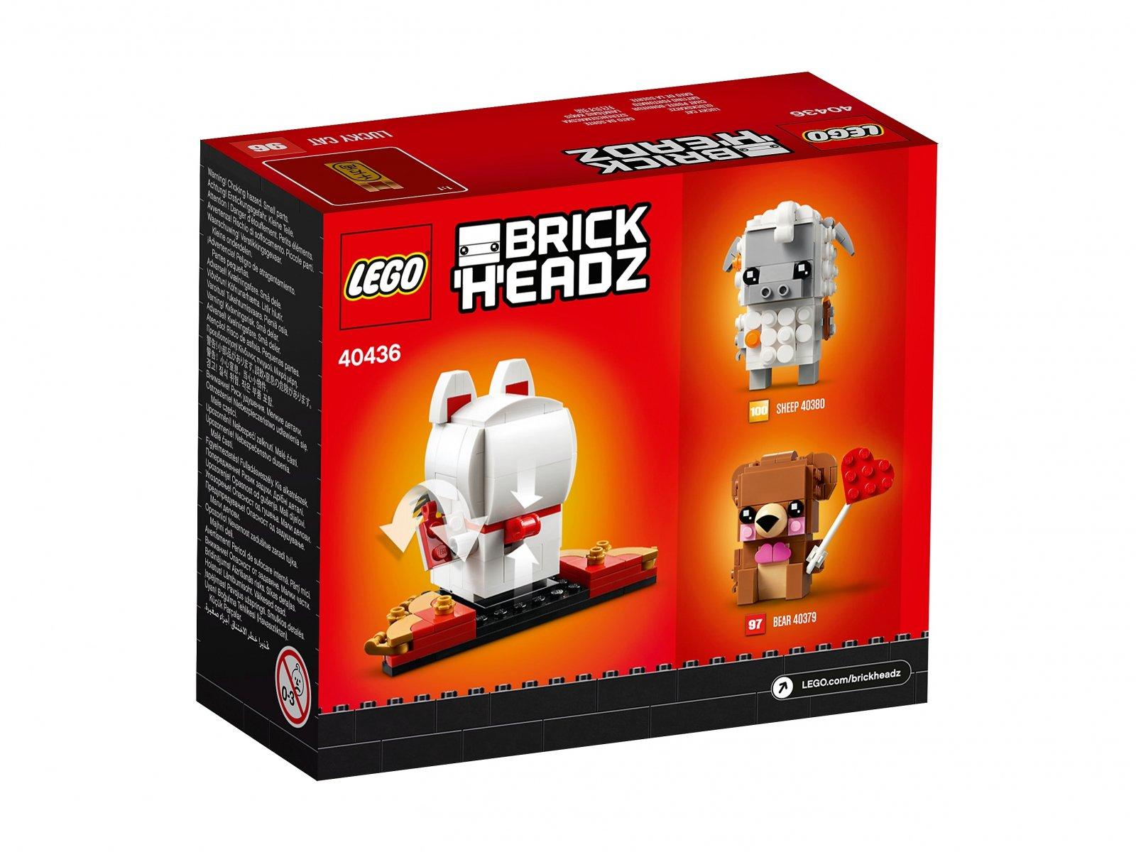 Lego 40436 Brickheadz Japonski Kot Szczescia