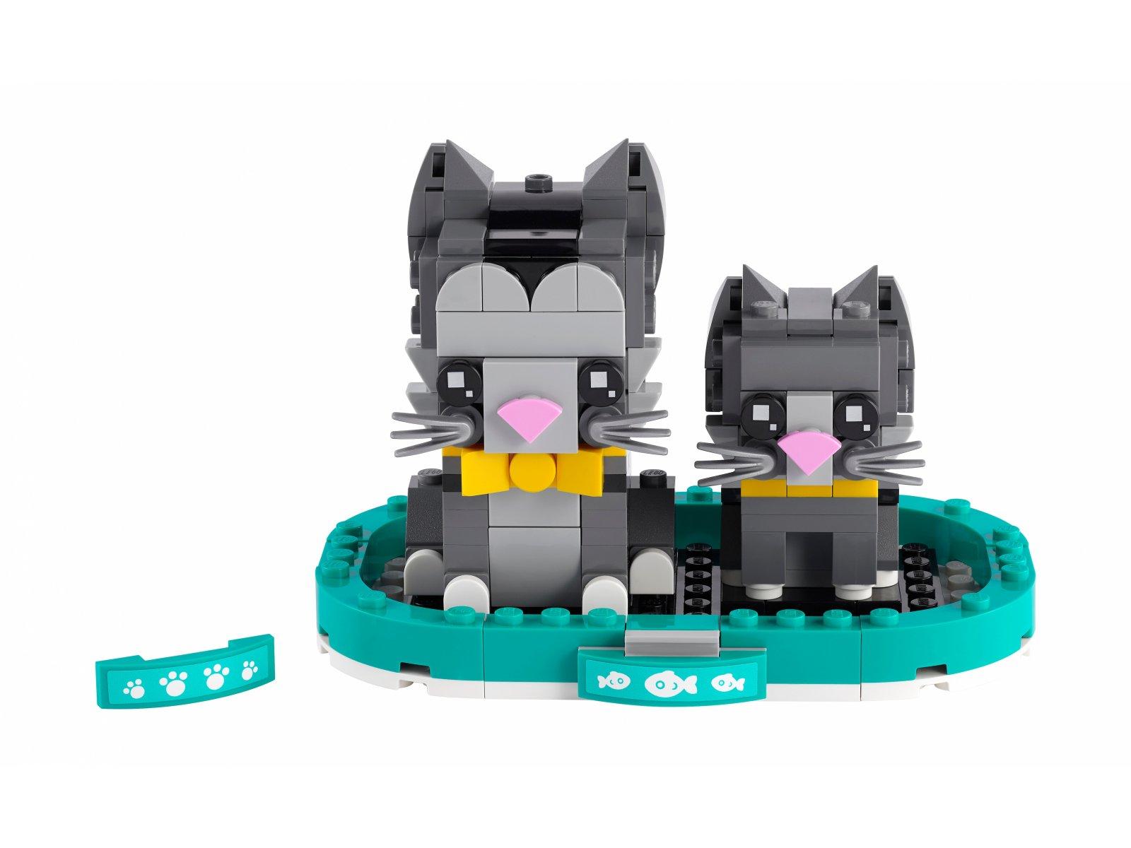 LEGO 40441 BrickHeadz Koty krótkowłose