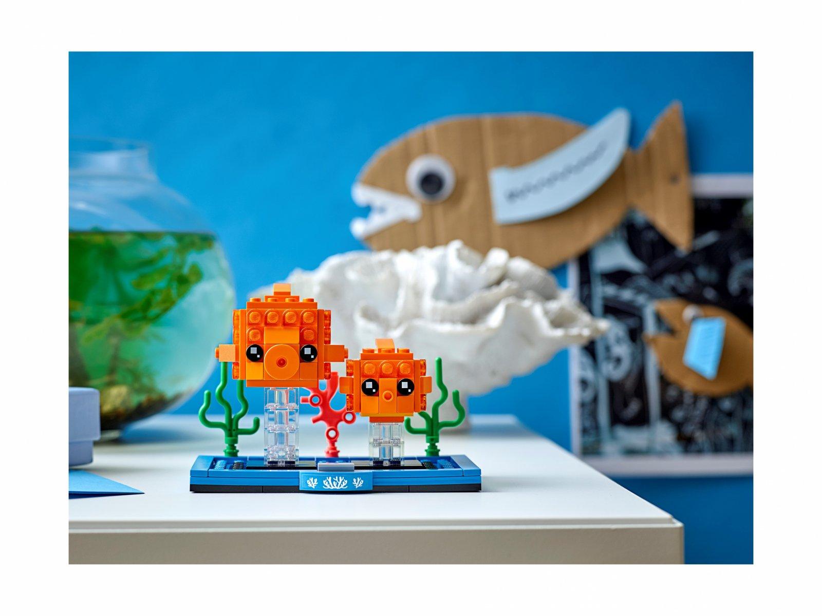 LEGO 40442 BrickHeadz Złota rybka