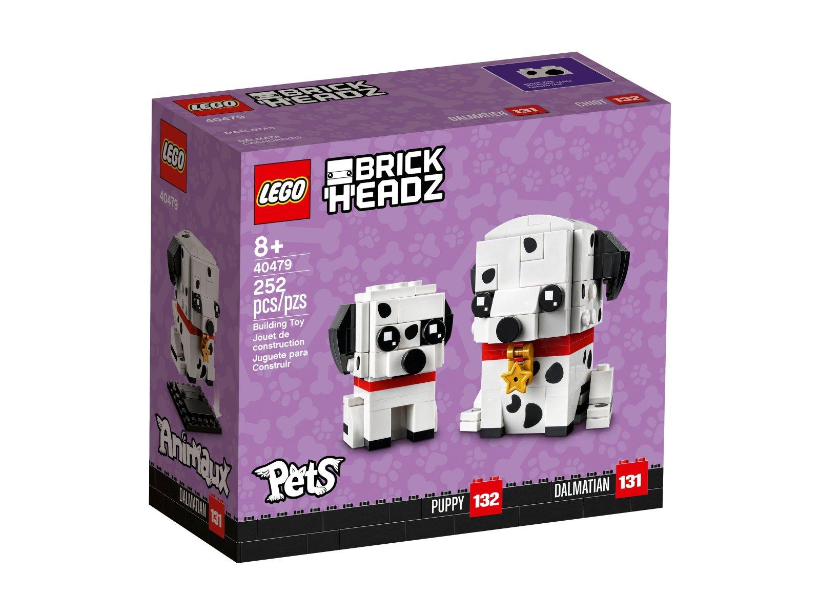 LEGO BrickHeadz 40479 Dalmatyńczyk