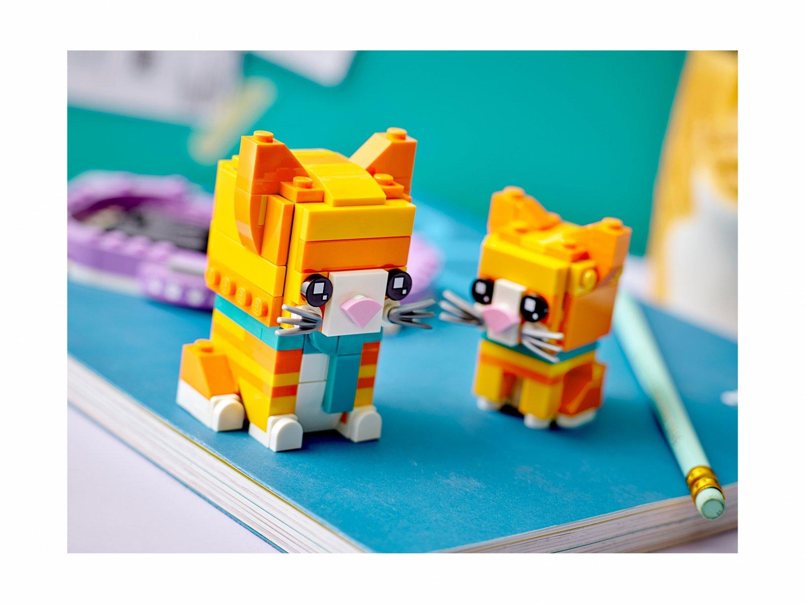 LEGO 40480 Pręgowany rudy kot