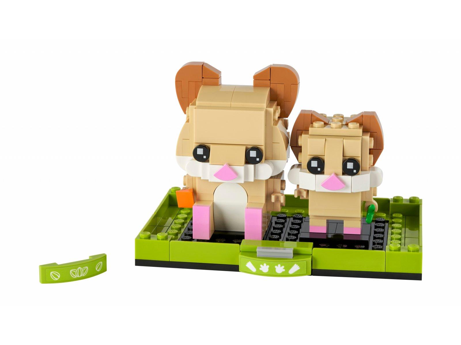 LEGO BrickHeadz Chomik 40482