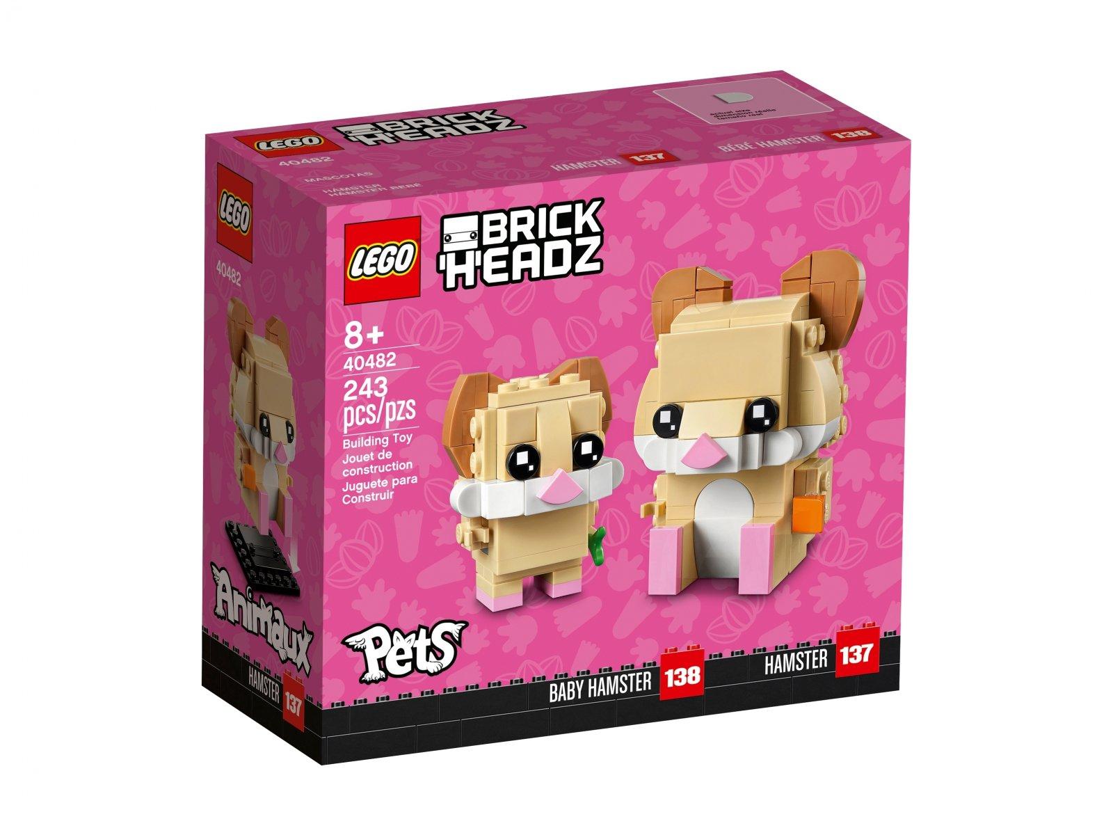 LEGO 40482 BrickHeadz Chomik