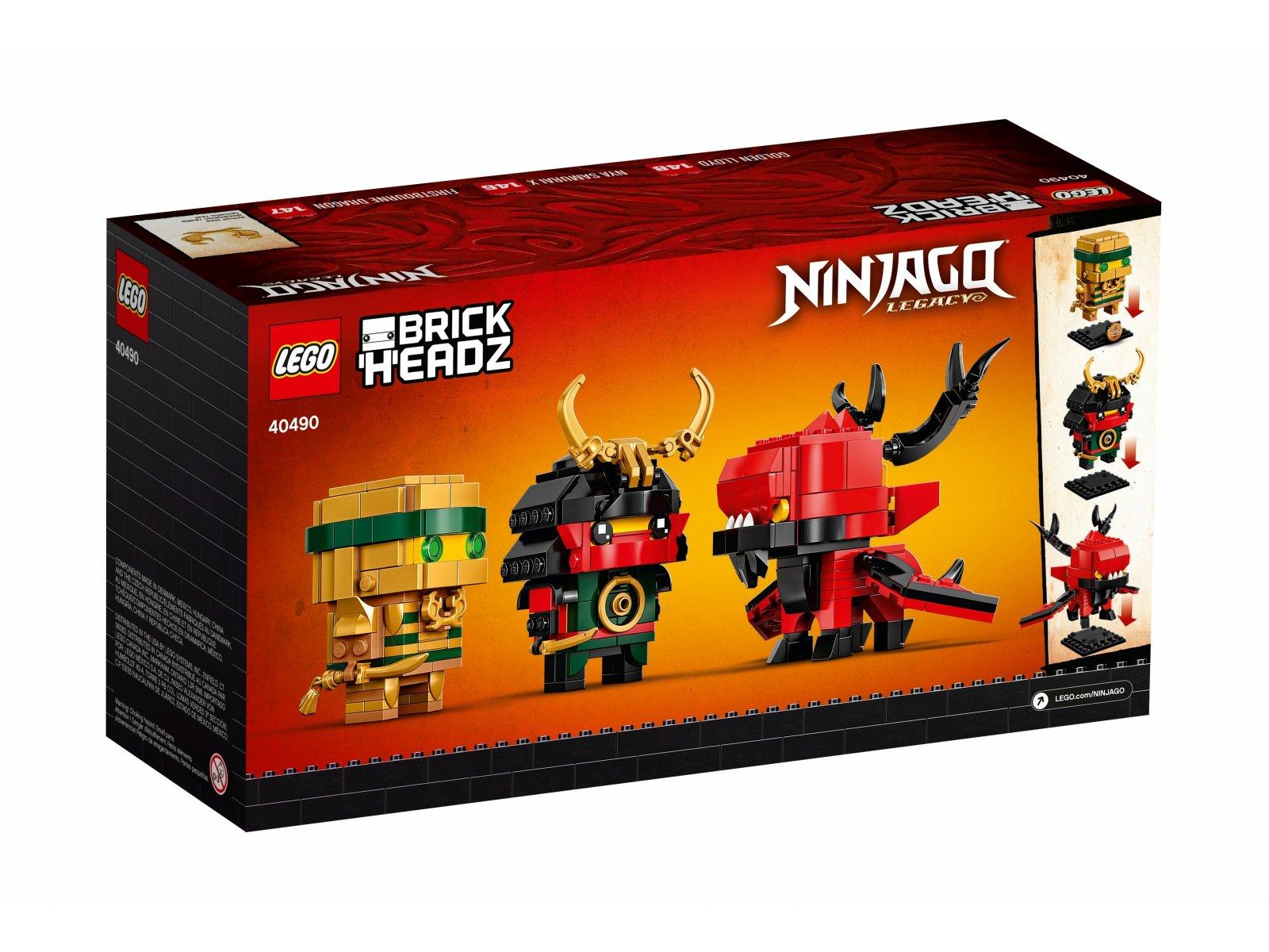 LEGO BrickHeadz NINJAGO® 10 40490