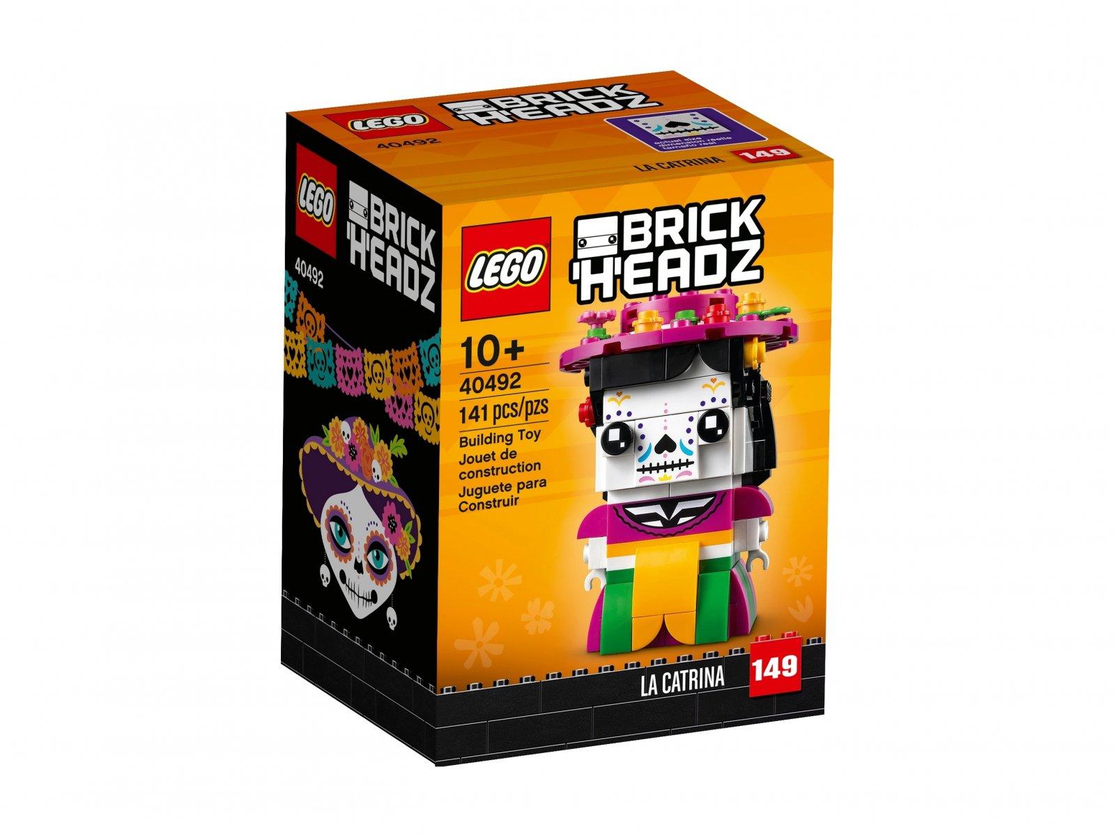 LEGO 40492 BrickHeadz Szkieletowa dama