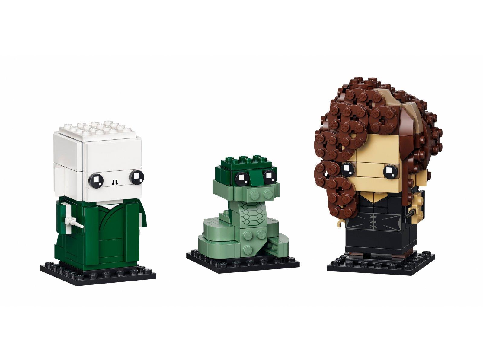 LEGO 40496 BrickHeadz Voldemort™, Nagini i Bellatrix