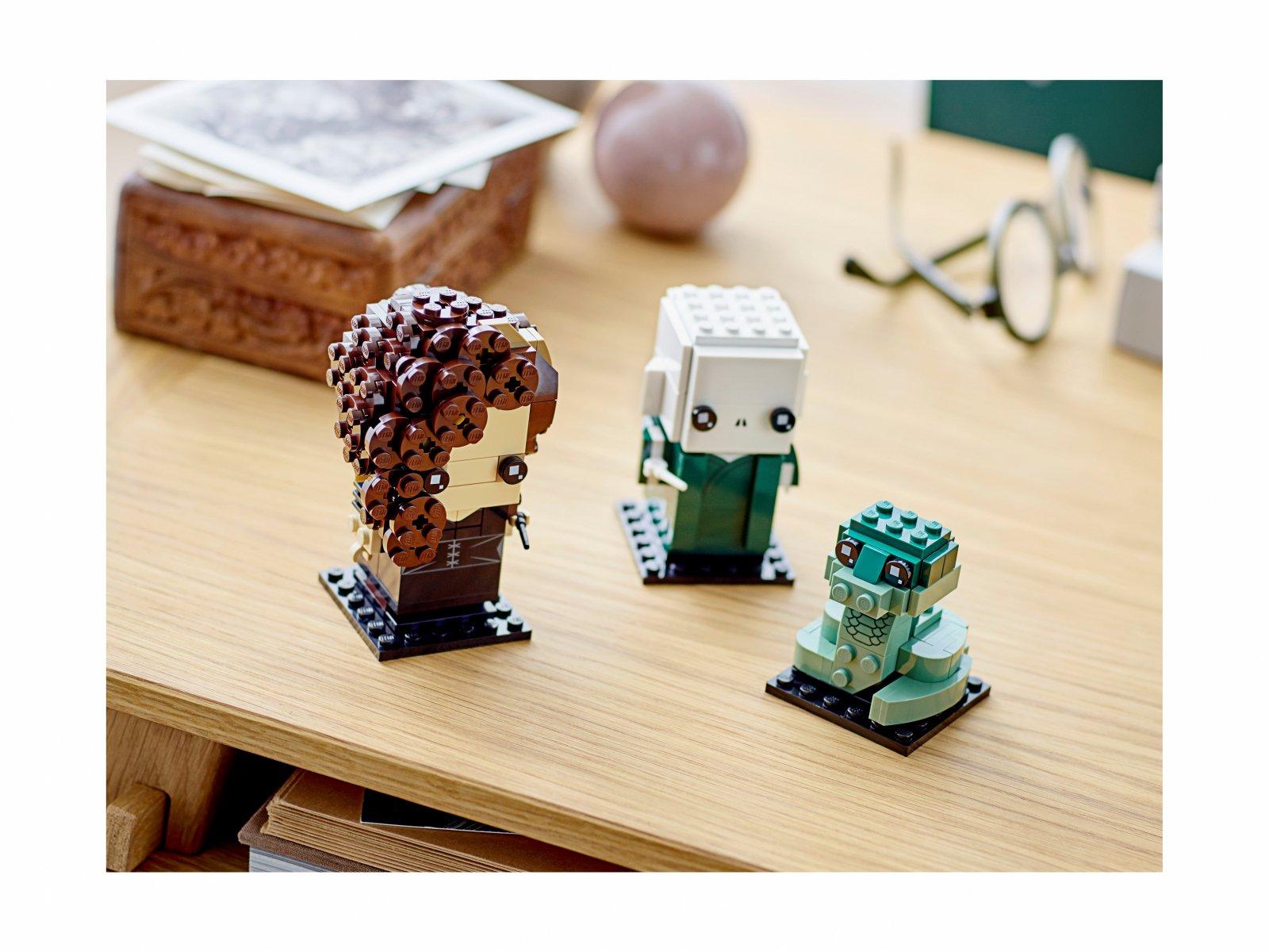 LEGO BrickHeadz 40496 Voldemort™, Nagini i Bellatrix