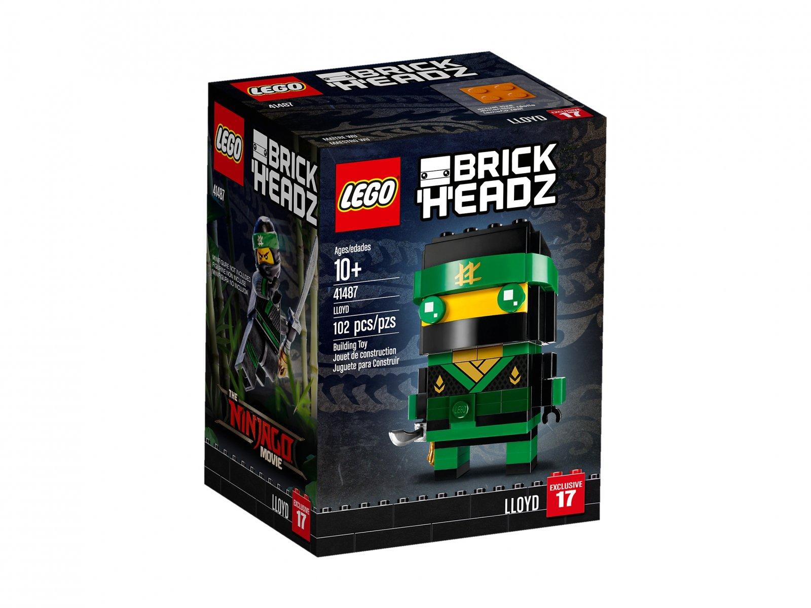 Lego 41487 Brickheadz Lloyd Porównaj Ceny Zklockówpl