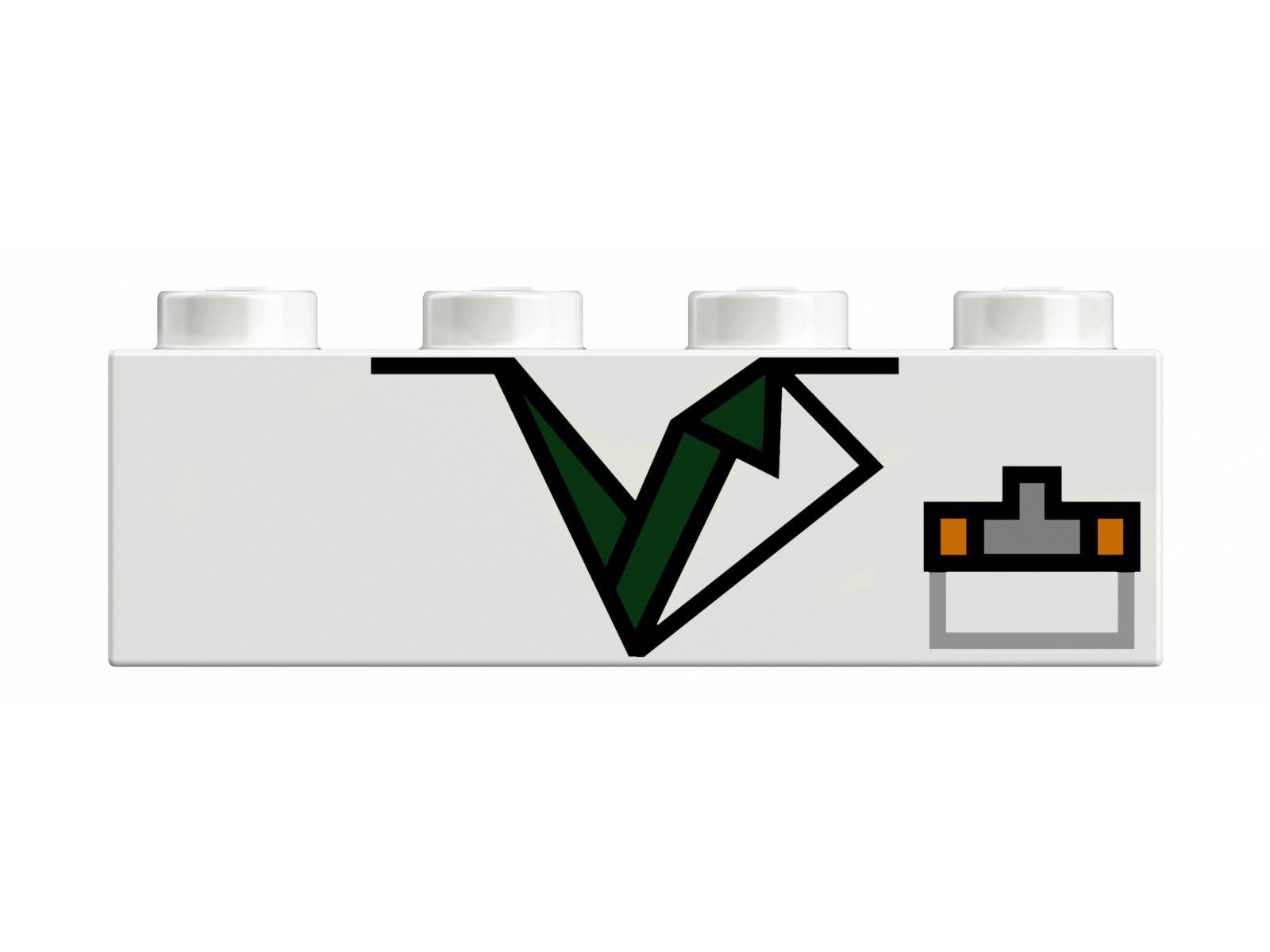 LEGO 41611 BrickHeadz Marty McFly & Doc Brown