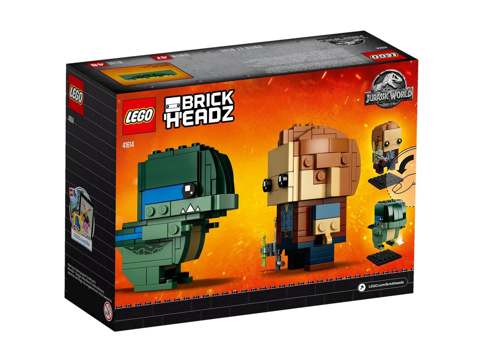 LEGO BrickHeadz Owen & Blue 41614