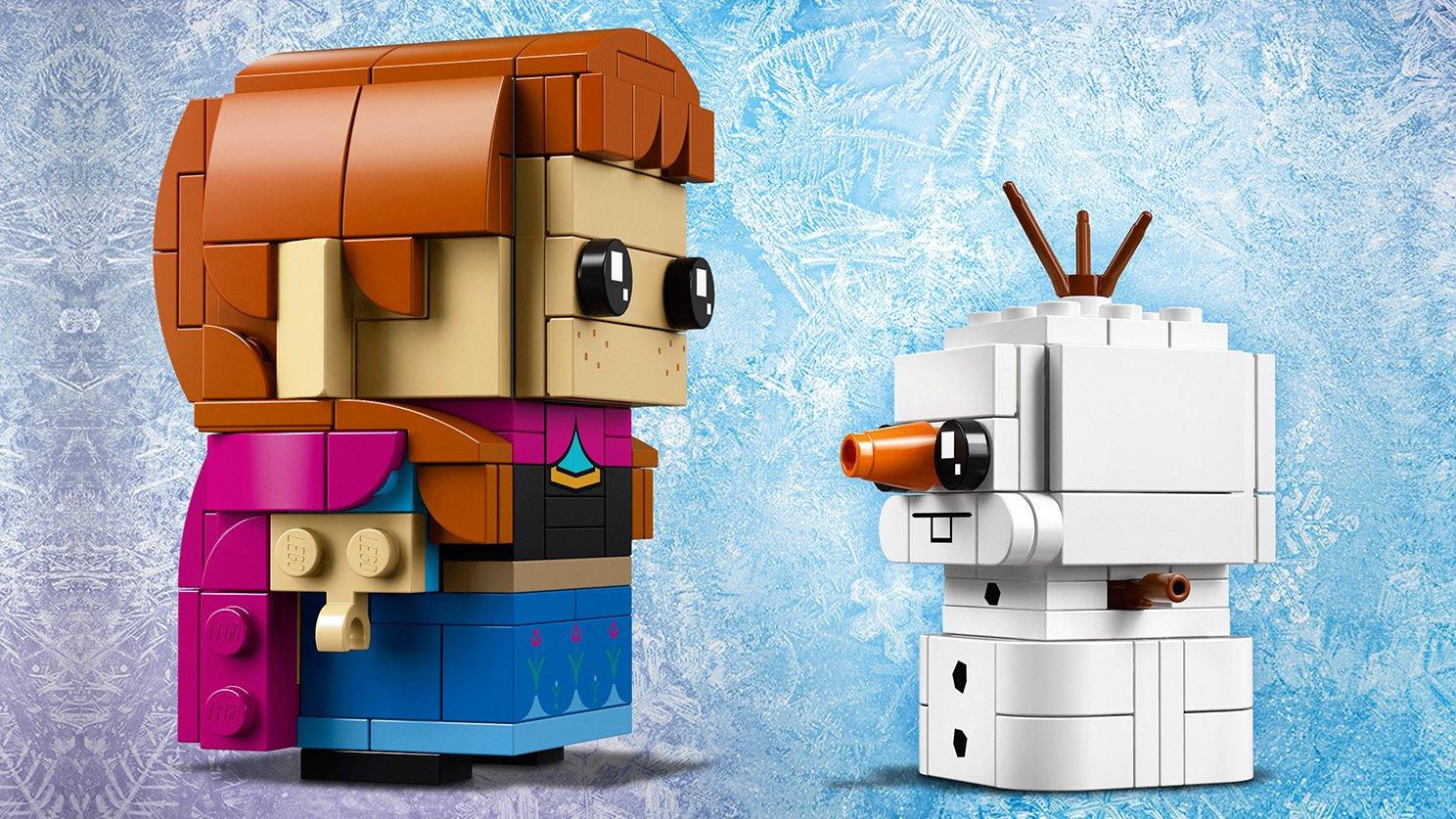 LEGO BrickHeadz 41618 Anna i Olaf