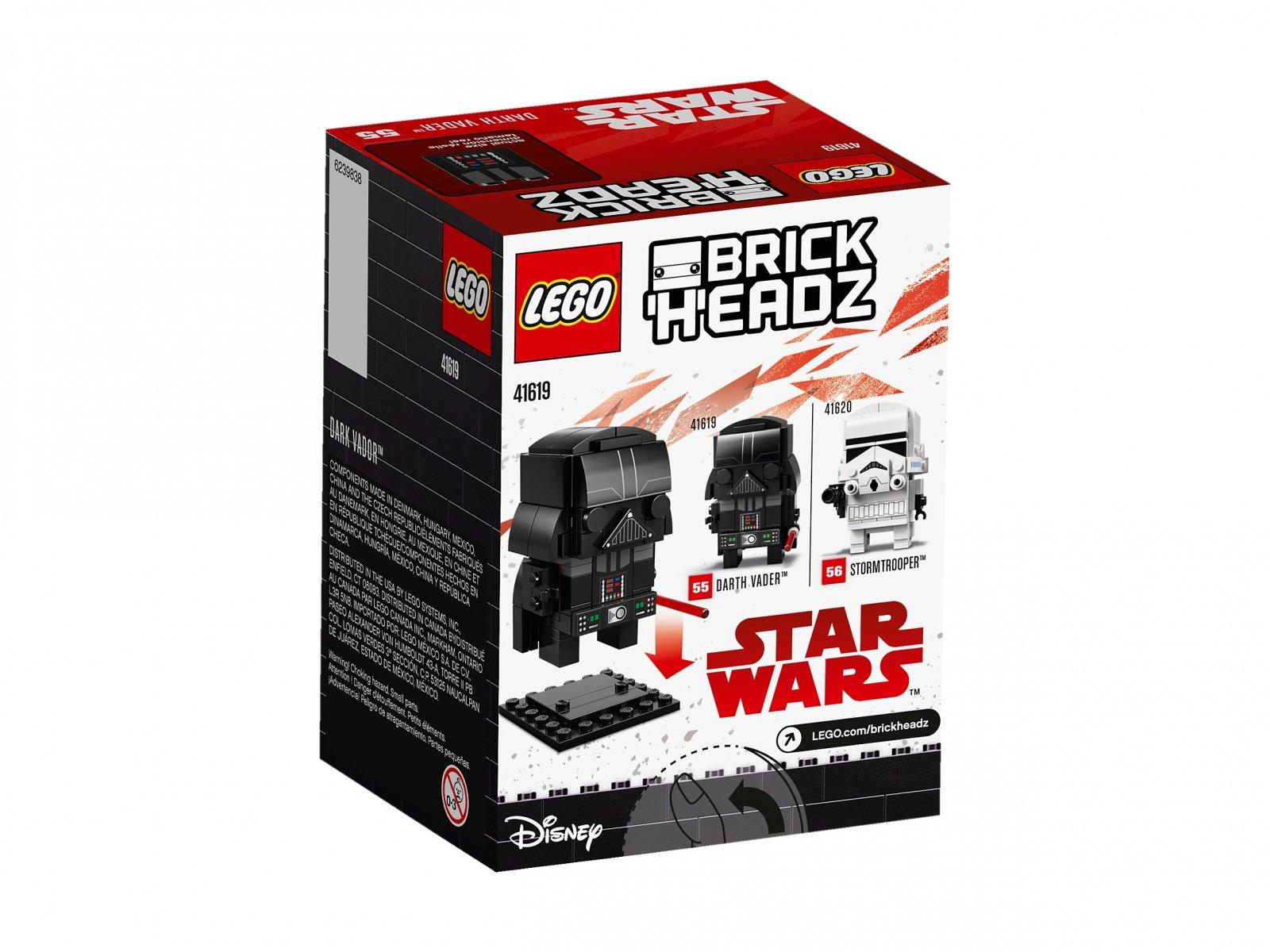 LEGO BrickHeadz Darth Vader™ 41619