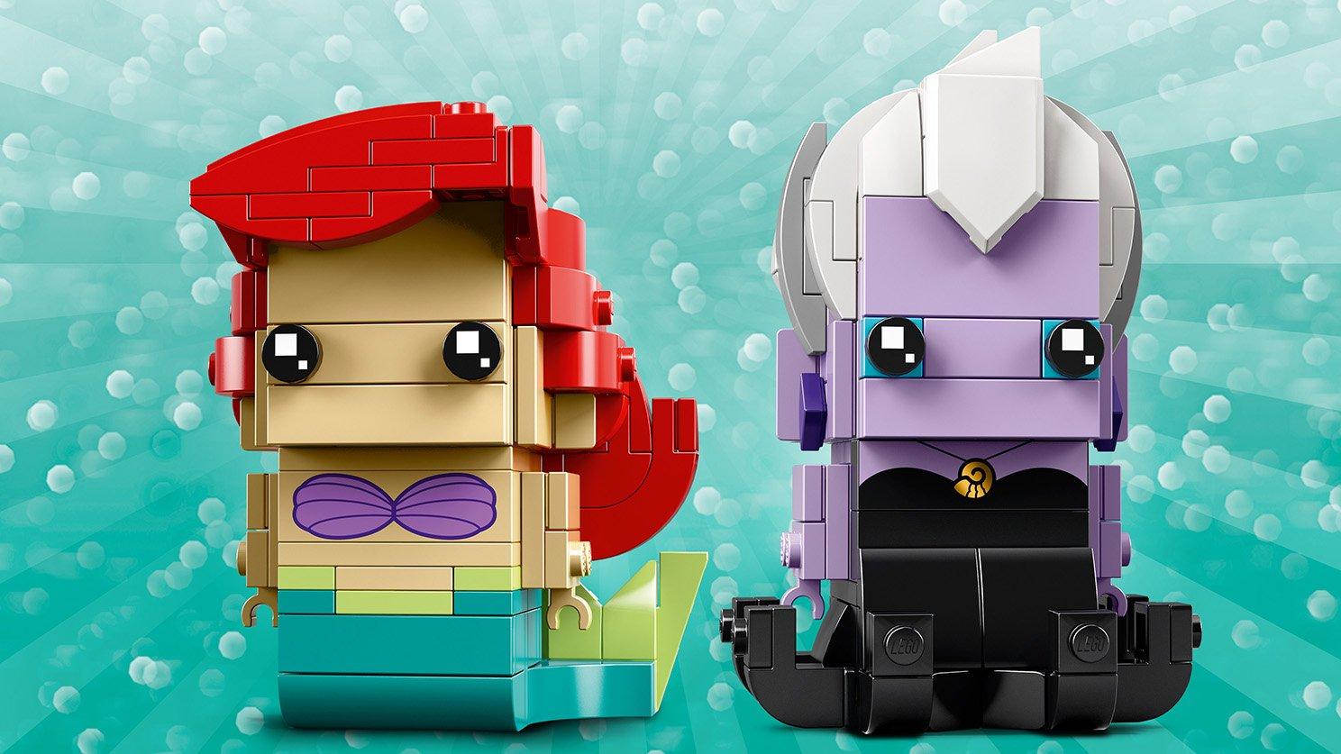 LEGO BrickHeadz Arielka i Urszula