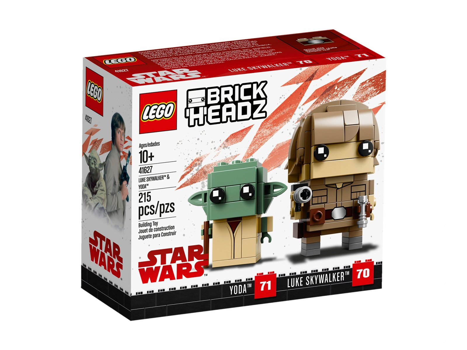 LEGO 41627 BrickHeadz Luke Skywalker™ i Yoda™
