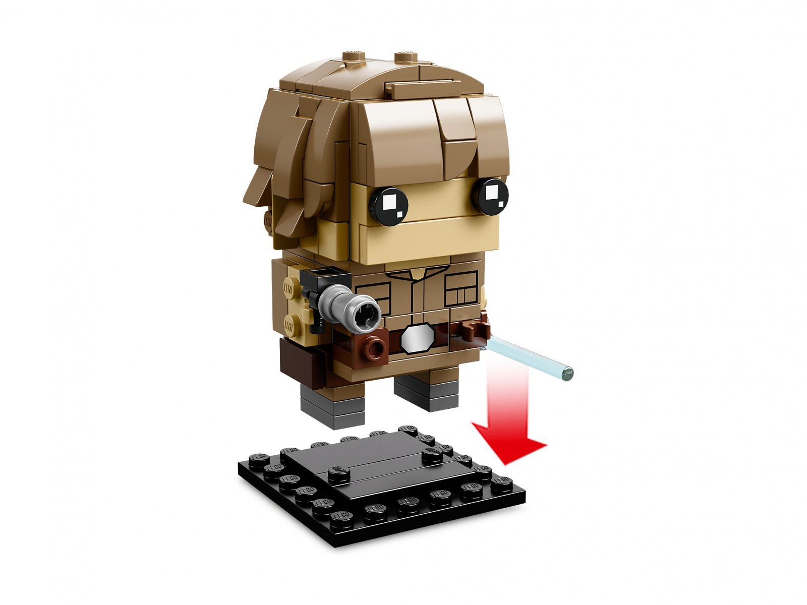 LEGO BrickHeadz Luke Skywalker™ i Yoda™ 41627