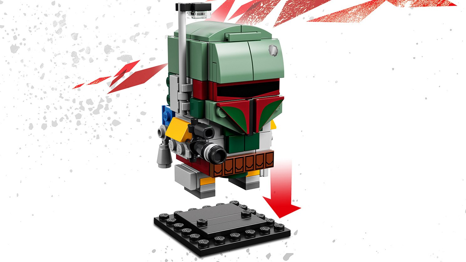 LEGO BrickHeadz Boba Fett™ 41629