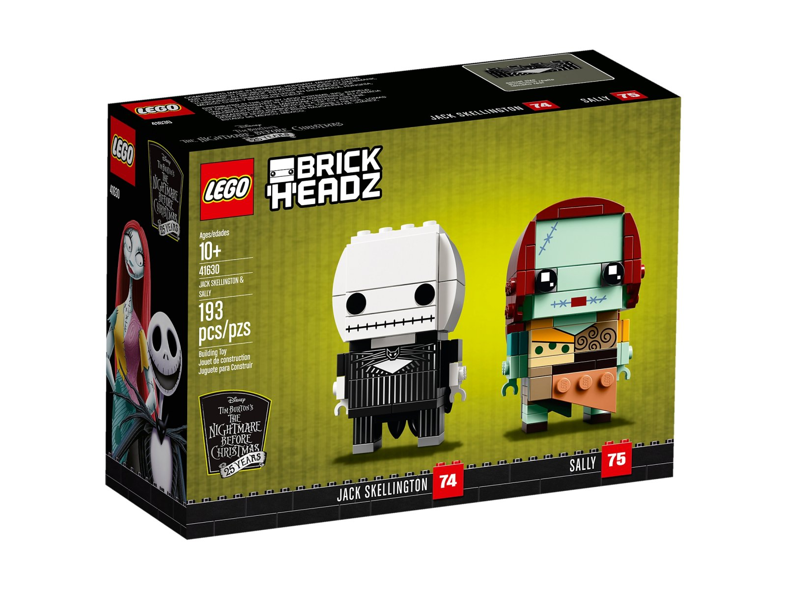 LEGO BrickHeadz Jack Skellington i Sally