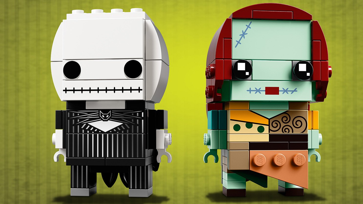 LEGO BrickHeadz 41630 Jack Skellington i Sally