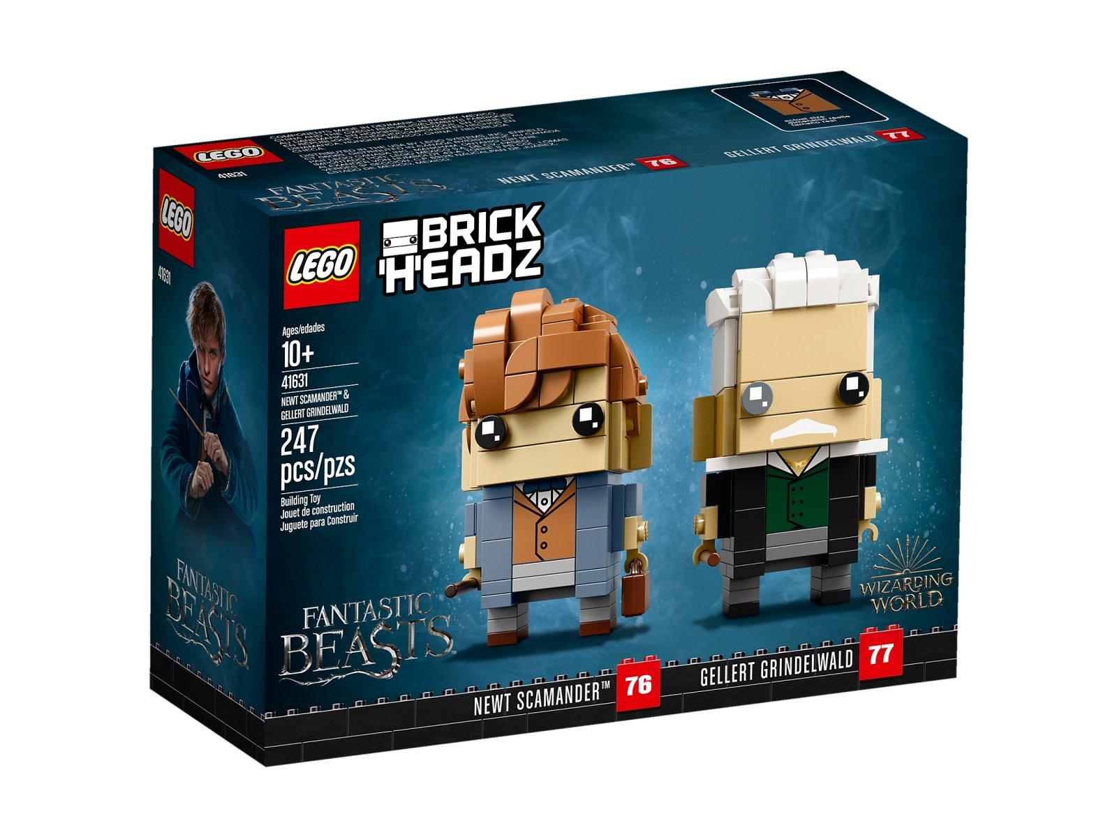 LEGO BrickHeadz 41631 Newt Scamander™ i Gellert Grindelwald