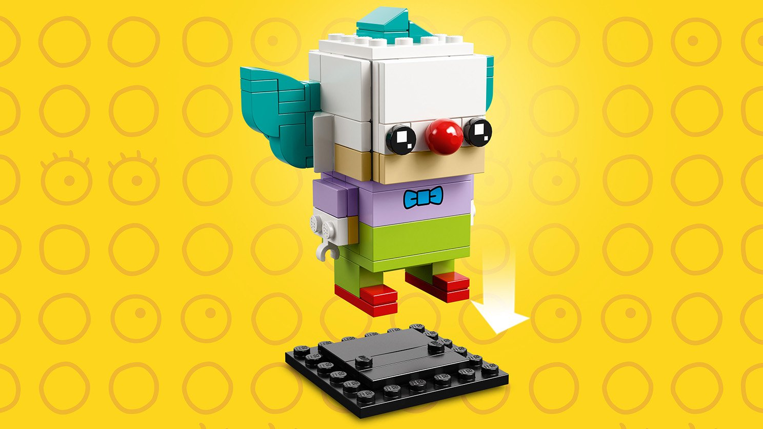 LEGO 41632 Homer Simpson i Klaun Krusty