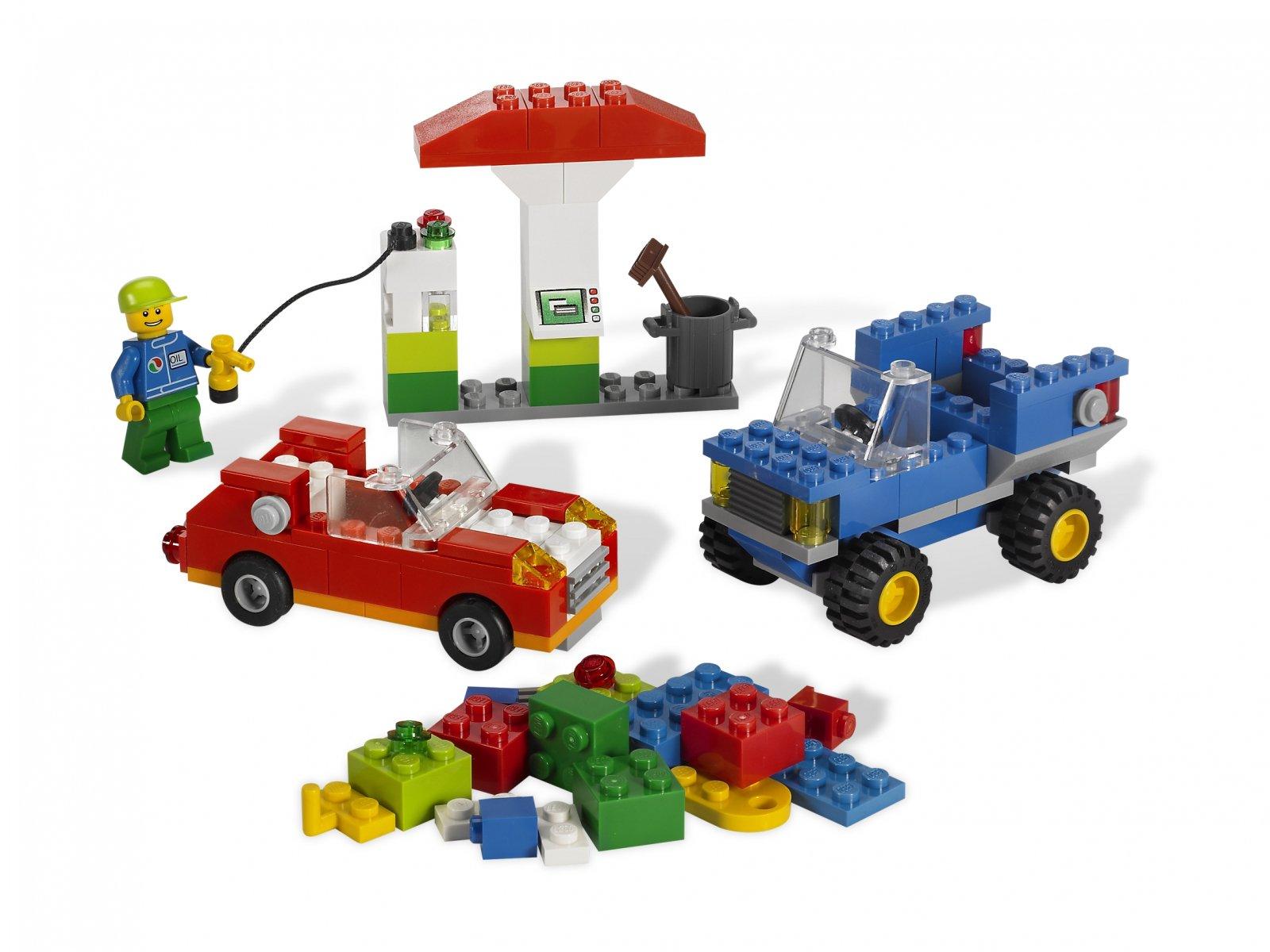 LEGO 5898 Bricks & More Zestaw do budowy samochodów