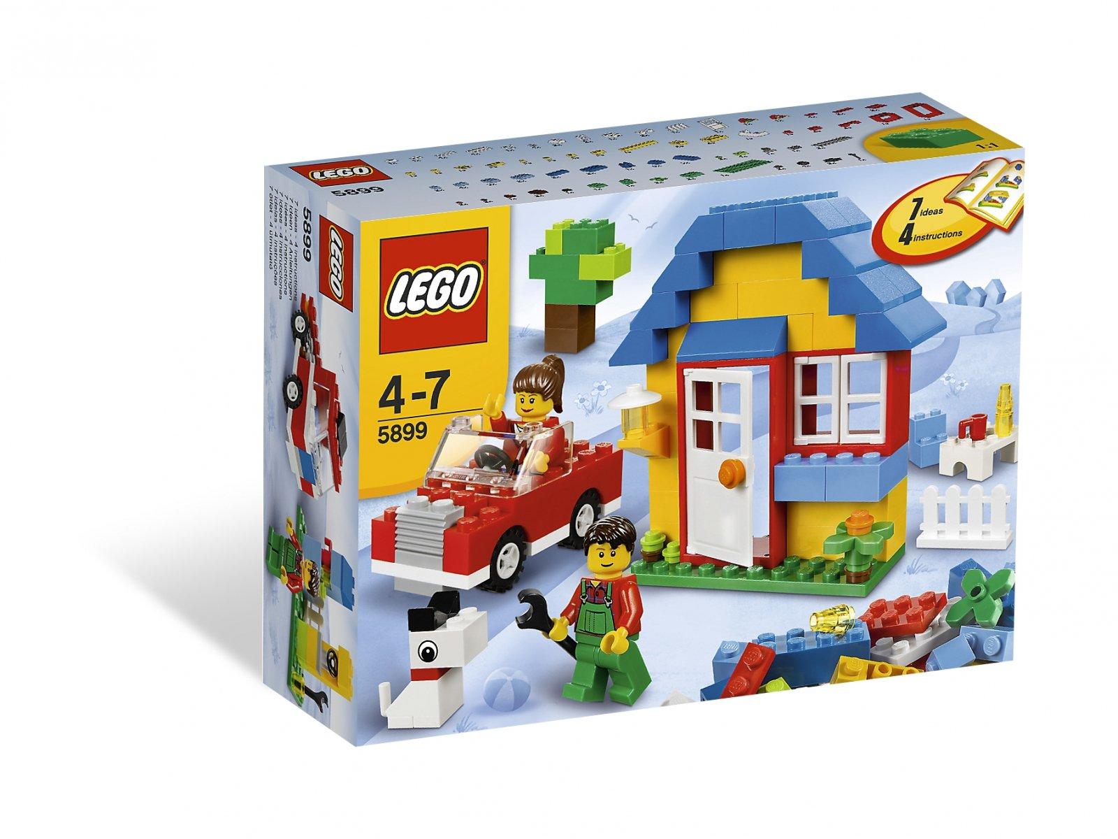 LEGO 5899 Bricks & More Zestaw do budowy domu
