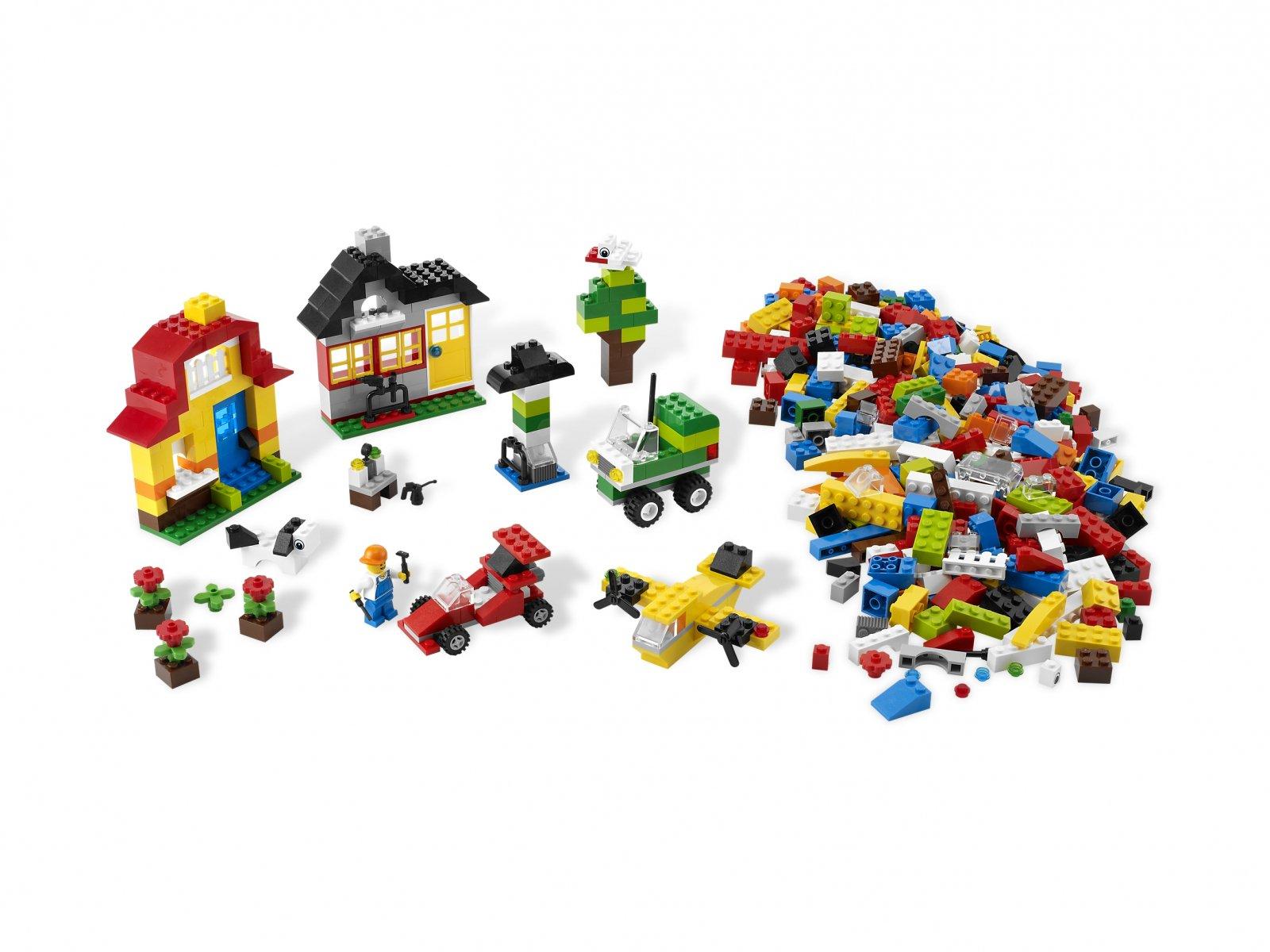 LEGO 6131 Bricks & More Build & Play | zklocków.pl