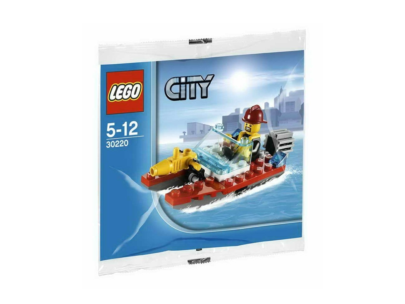 LEGO City Fire Speedboat 30220