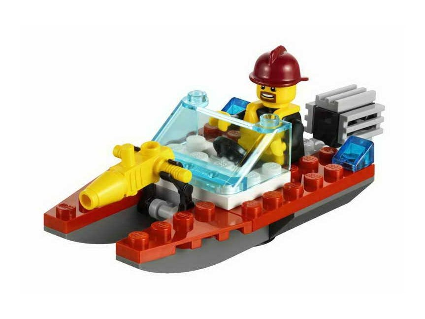 LEGO City 30220 Fire Speedboat