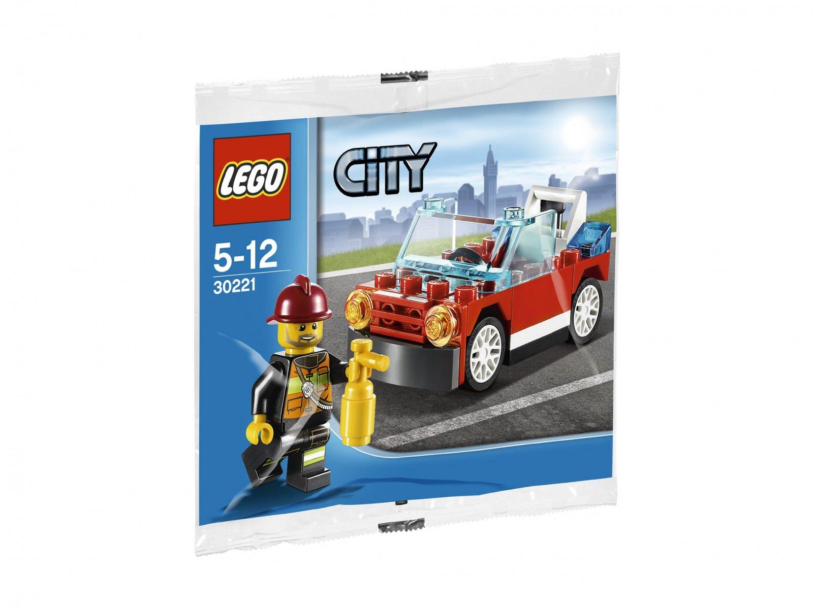LEGO City Fire Car 30221