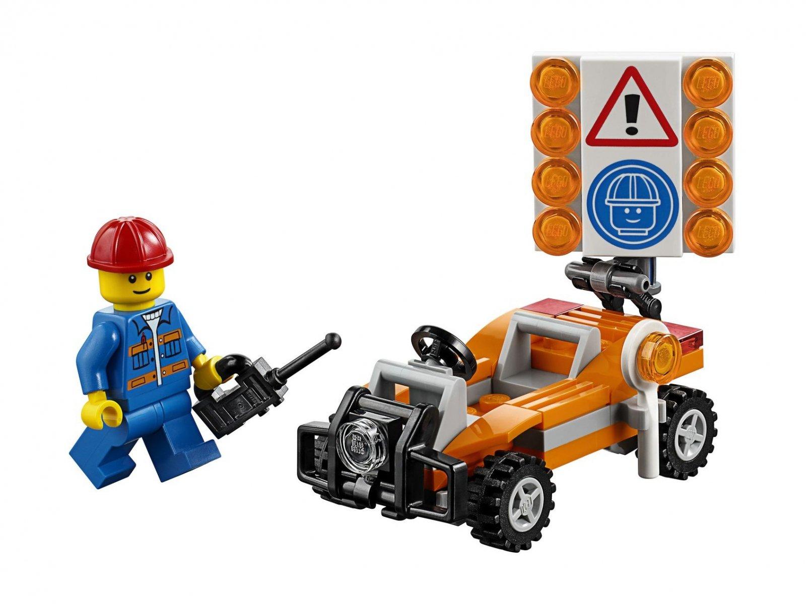 LEGO City 30357 Roboty Drogowe