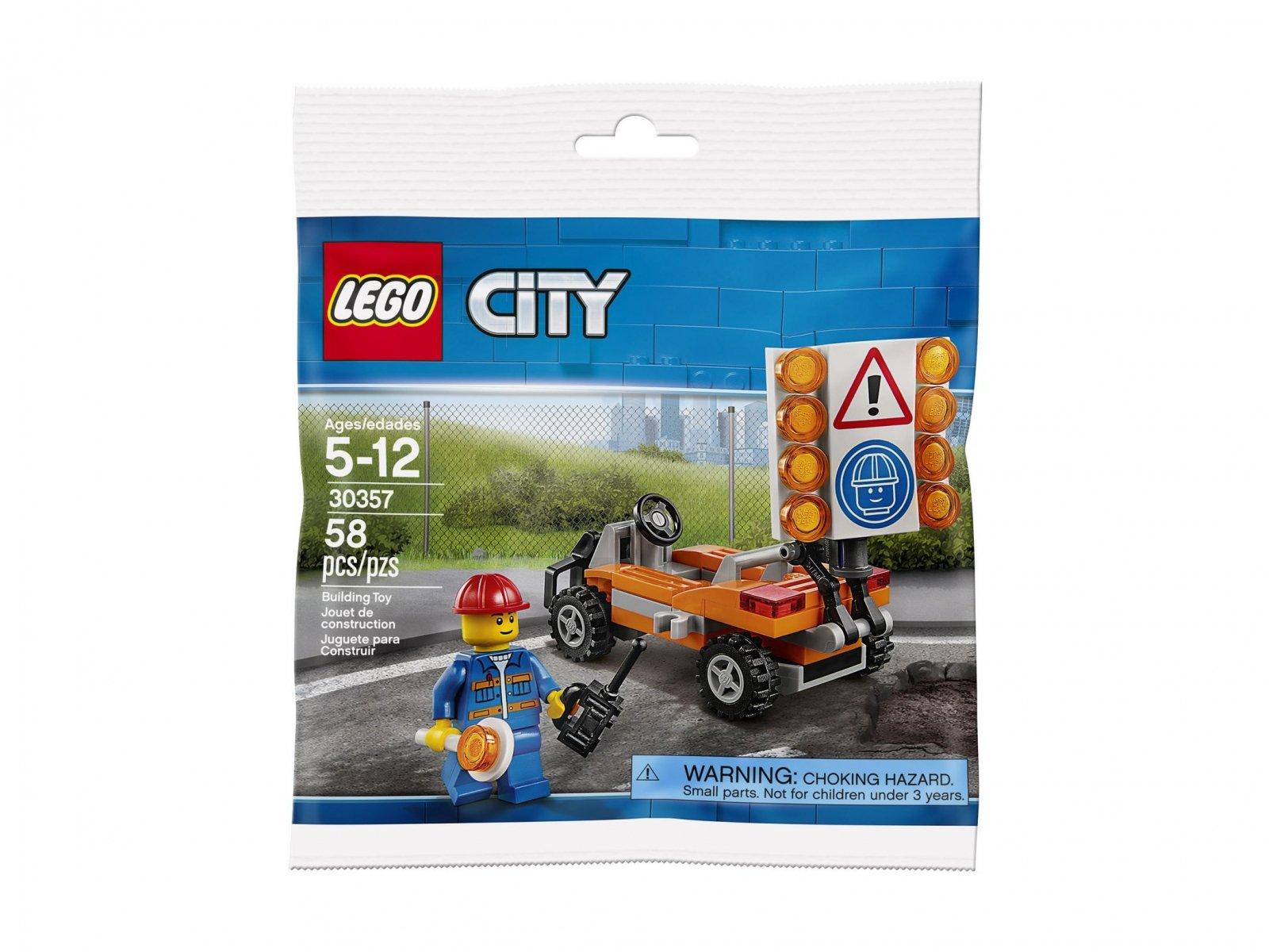 LEGO 30357 Roboty Drogowe