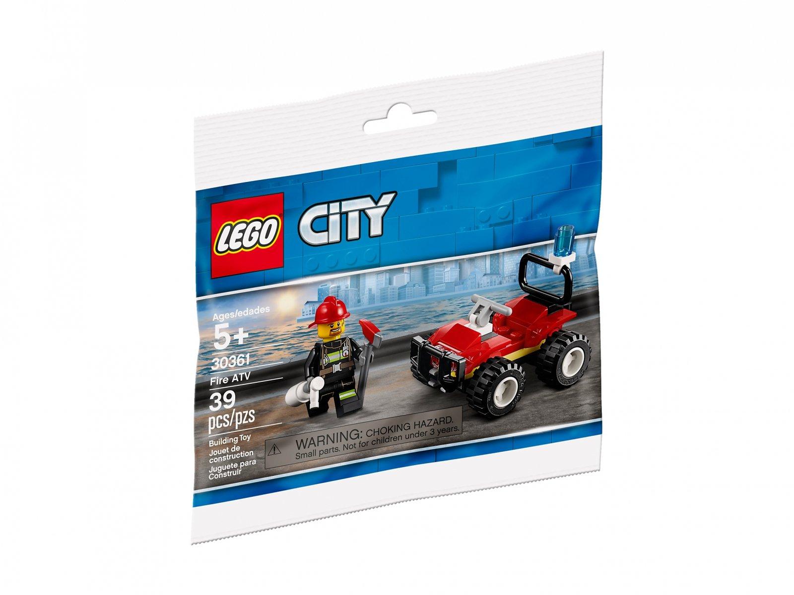 LEGO 30361 Strażacki quad