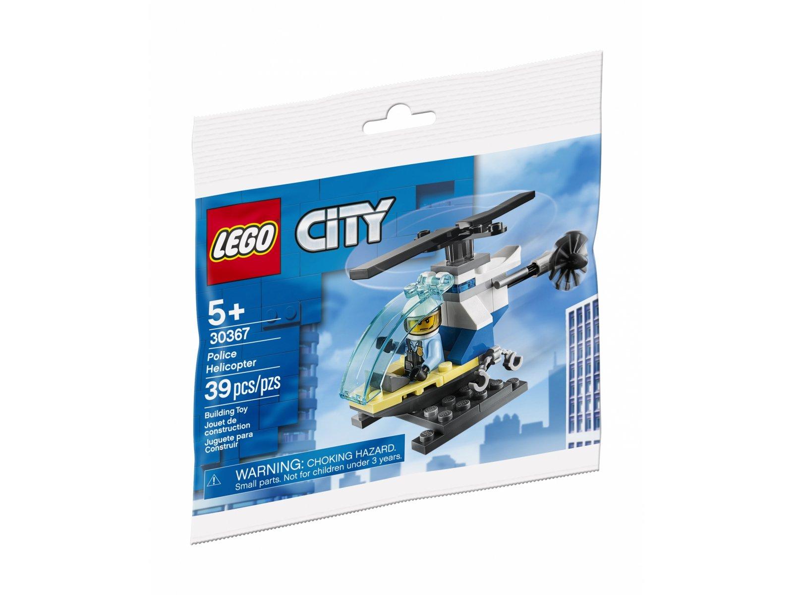 LEGO City 30367 Helikopter policyjny