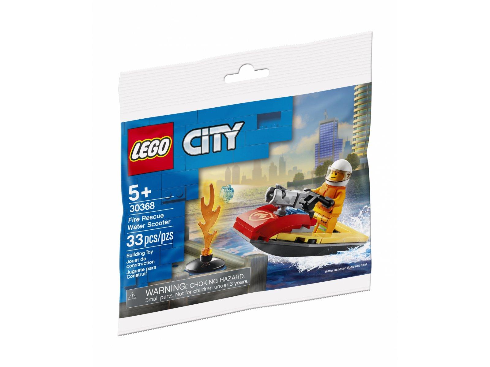 LEGO City 30368 Strażacki skuter wodny