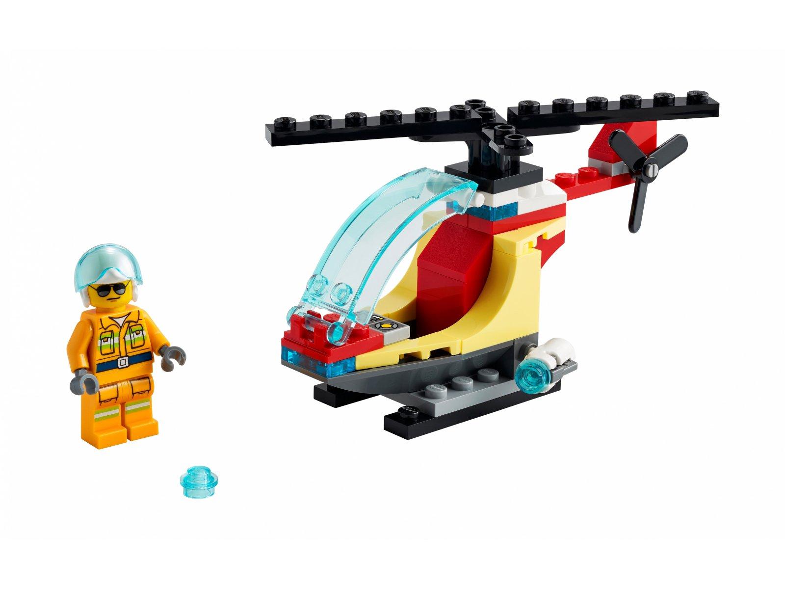 LEGO City Helikopter strażacki 30566
