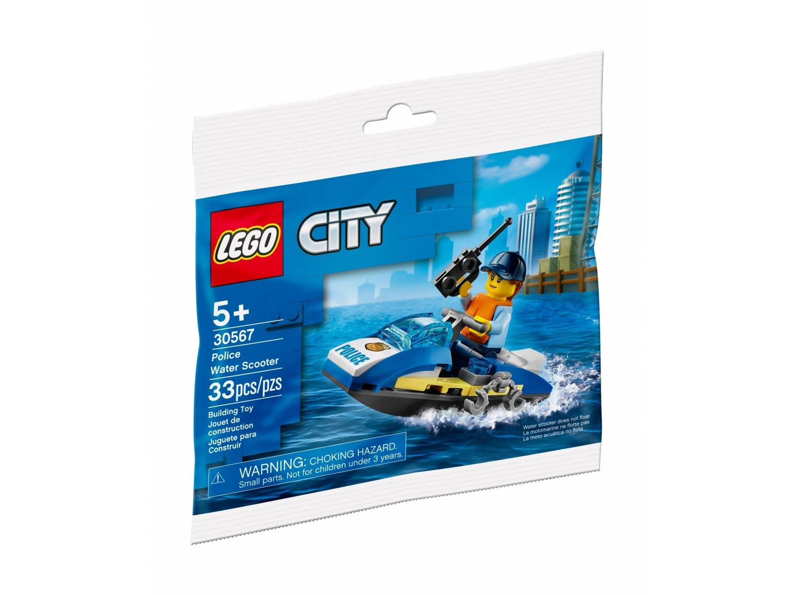 LEGO 30567 City Policyjny skuter wodny