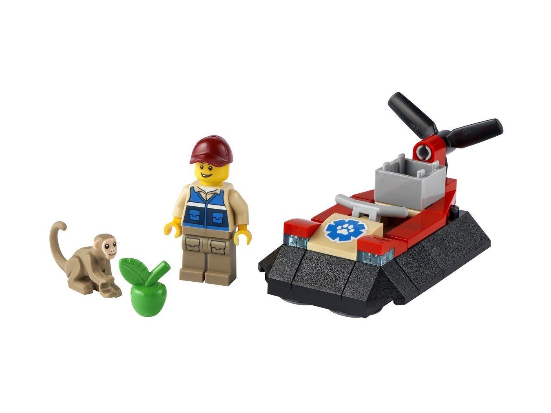 LEGO City Poduszkowiec ratowników dzikich zwierząt 30570