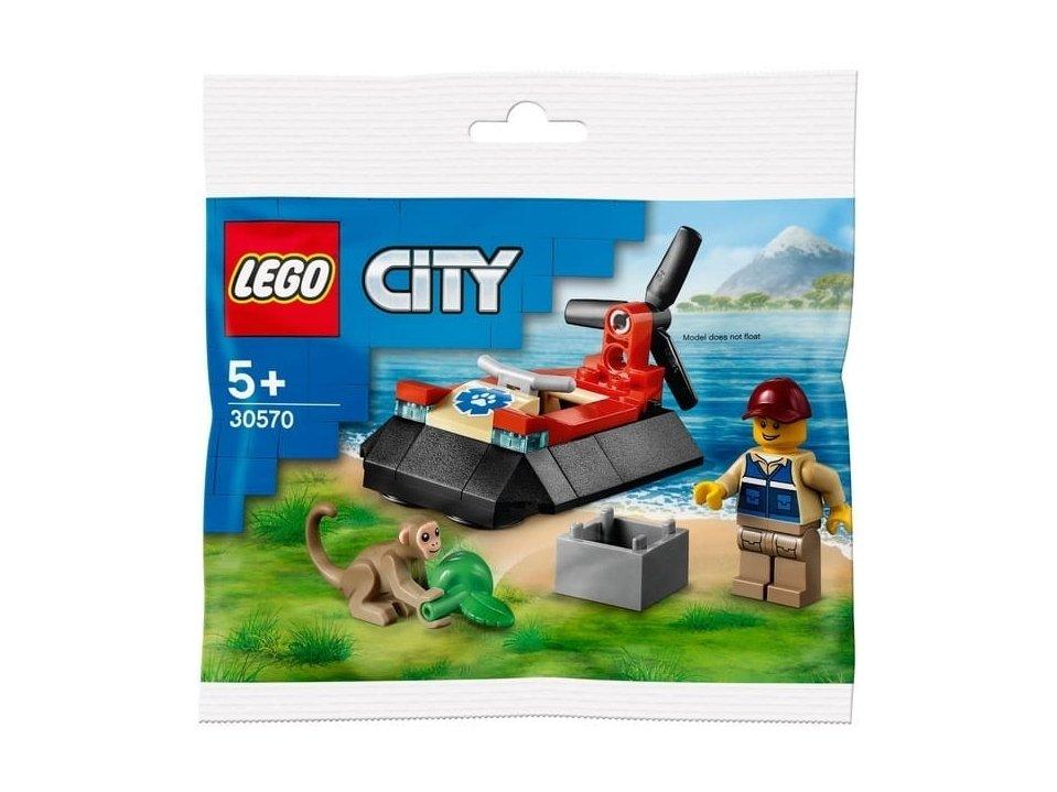 LEGO City 30570 Poduszkowiec ratowników dzikich zwierząt
