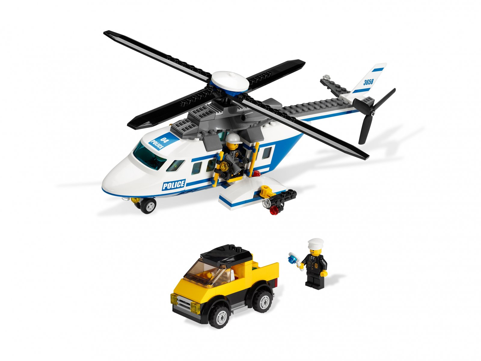 LEGO 3658 City Police Helicopter