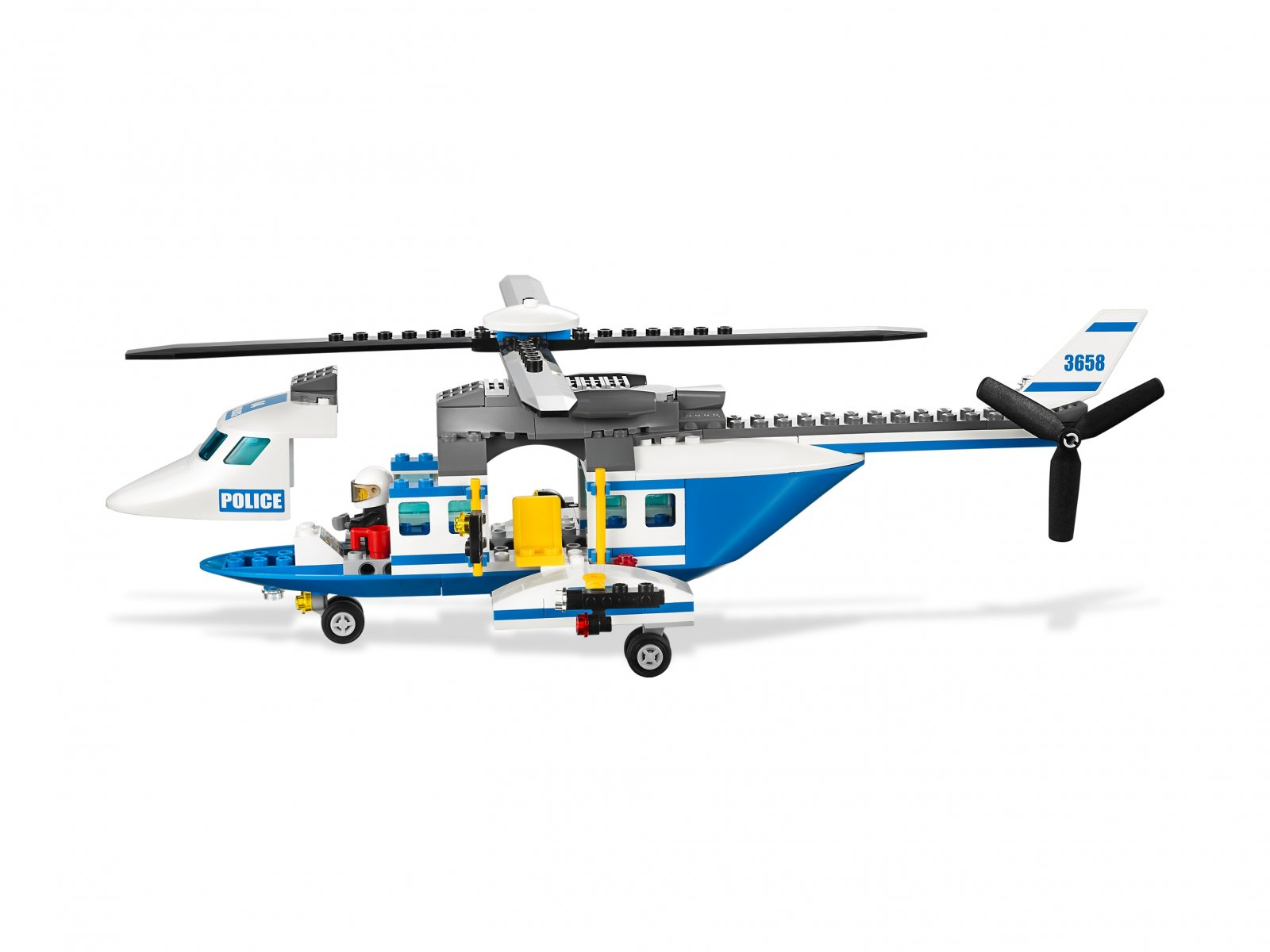 LEGO City 3658 Police Helicopter