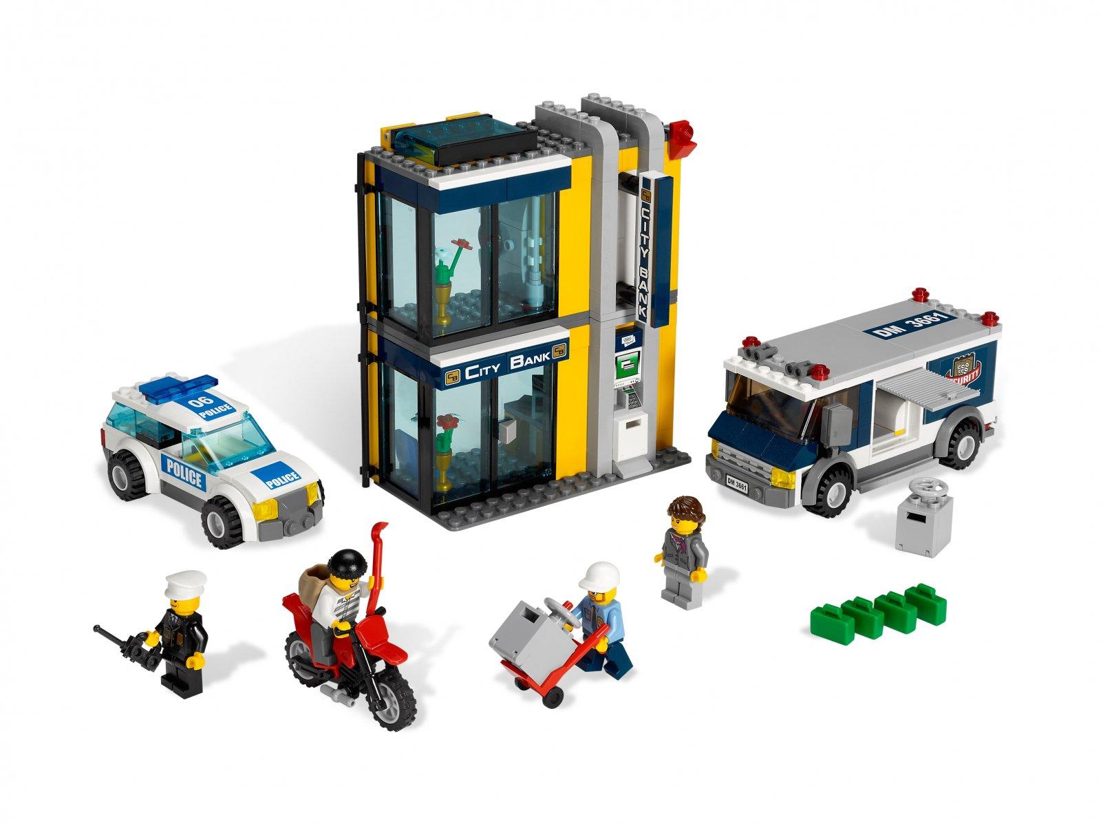 Lego 3661 City Bank Money Transfer Zklockówpl