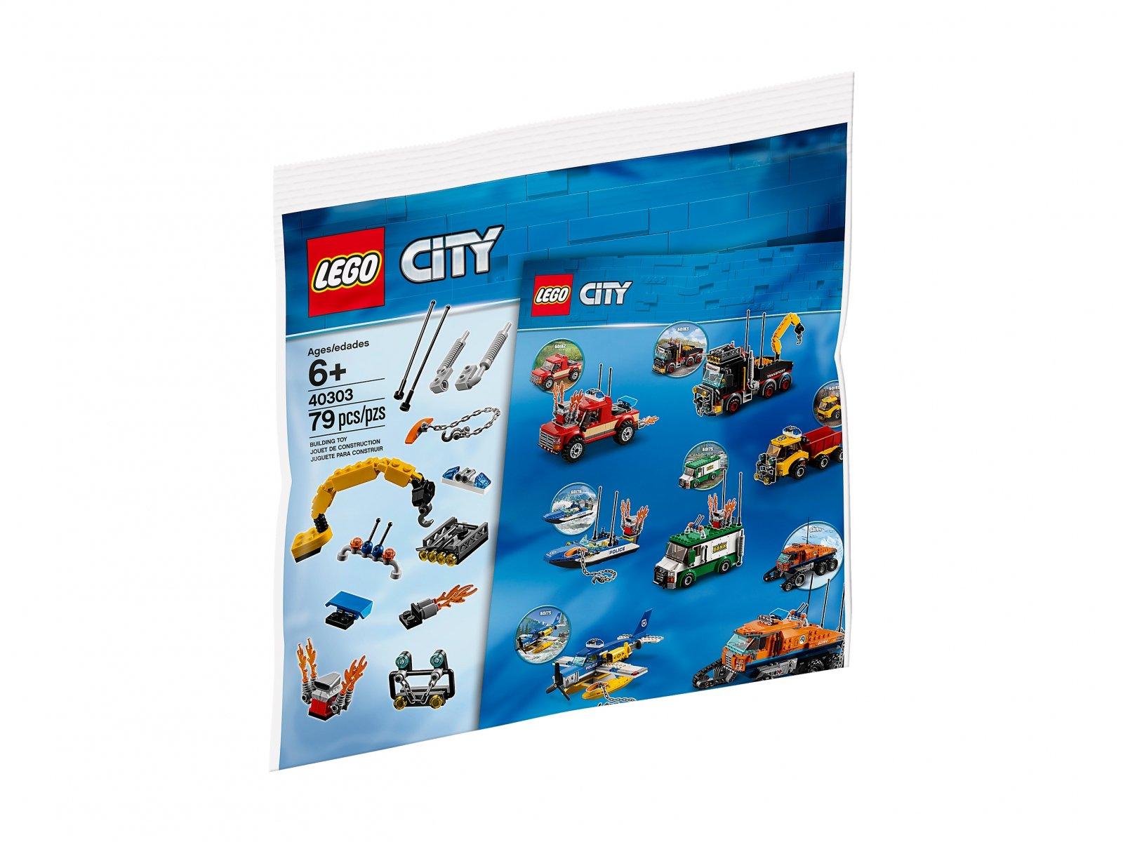 LEGO City Lepsze pojazdy LEGO City 40303