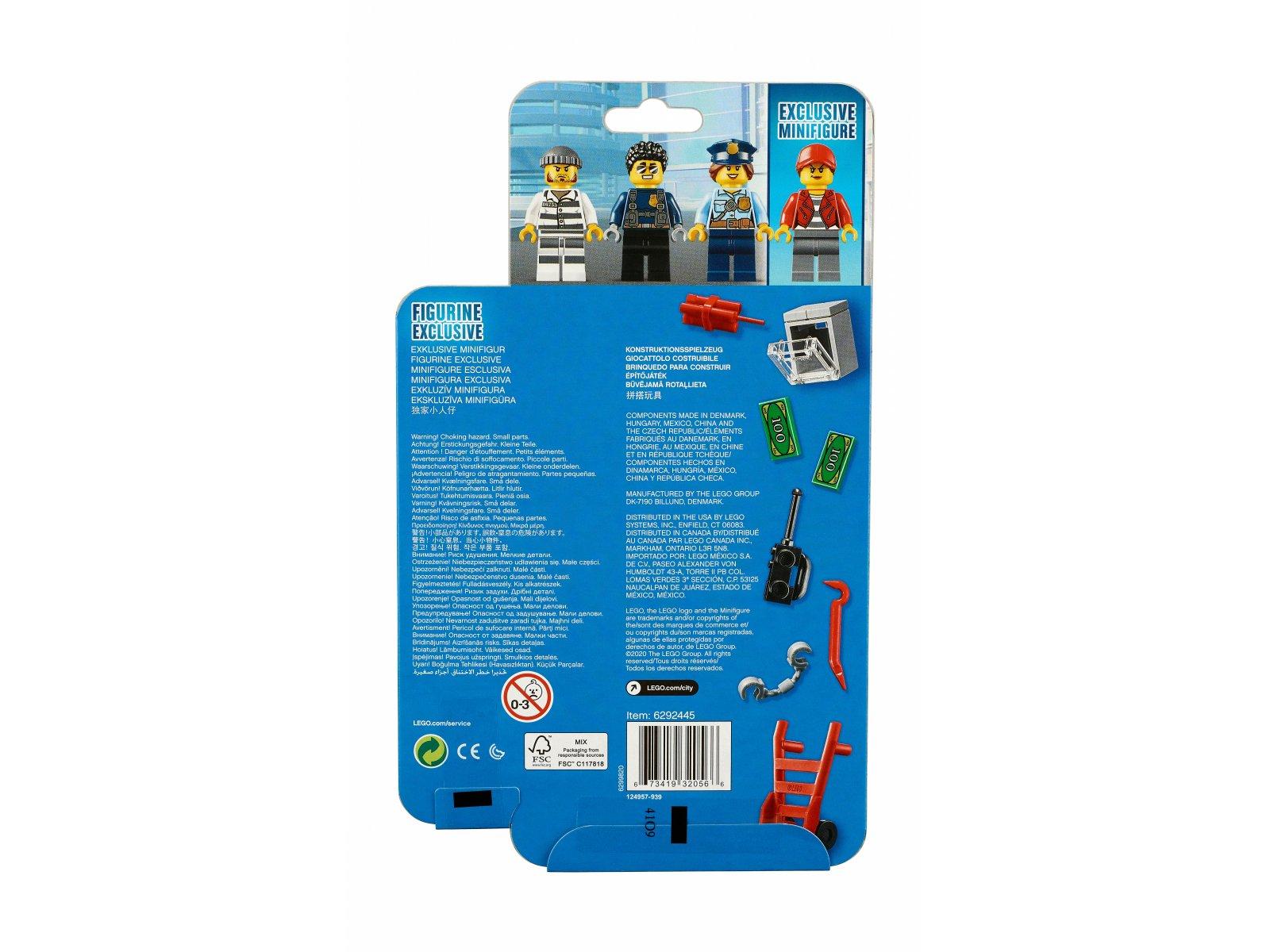 LEGO City 40372 Zestaw akcesoriów i minifigurek policyjnych