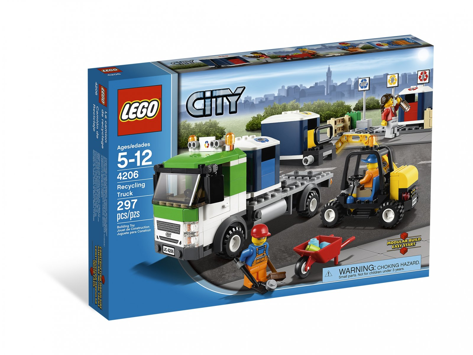 LEGO 4206 Recycling Truck
