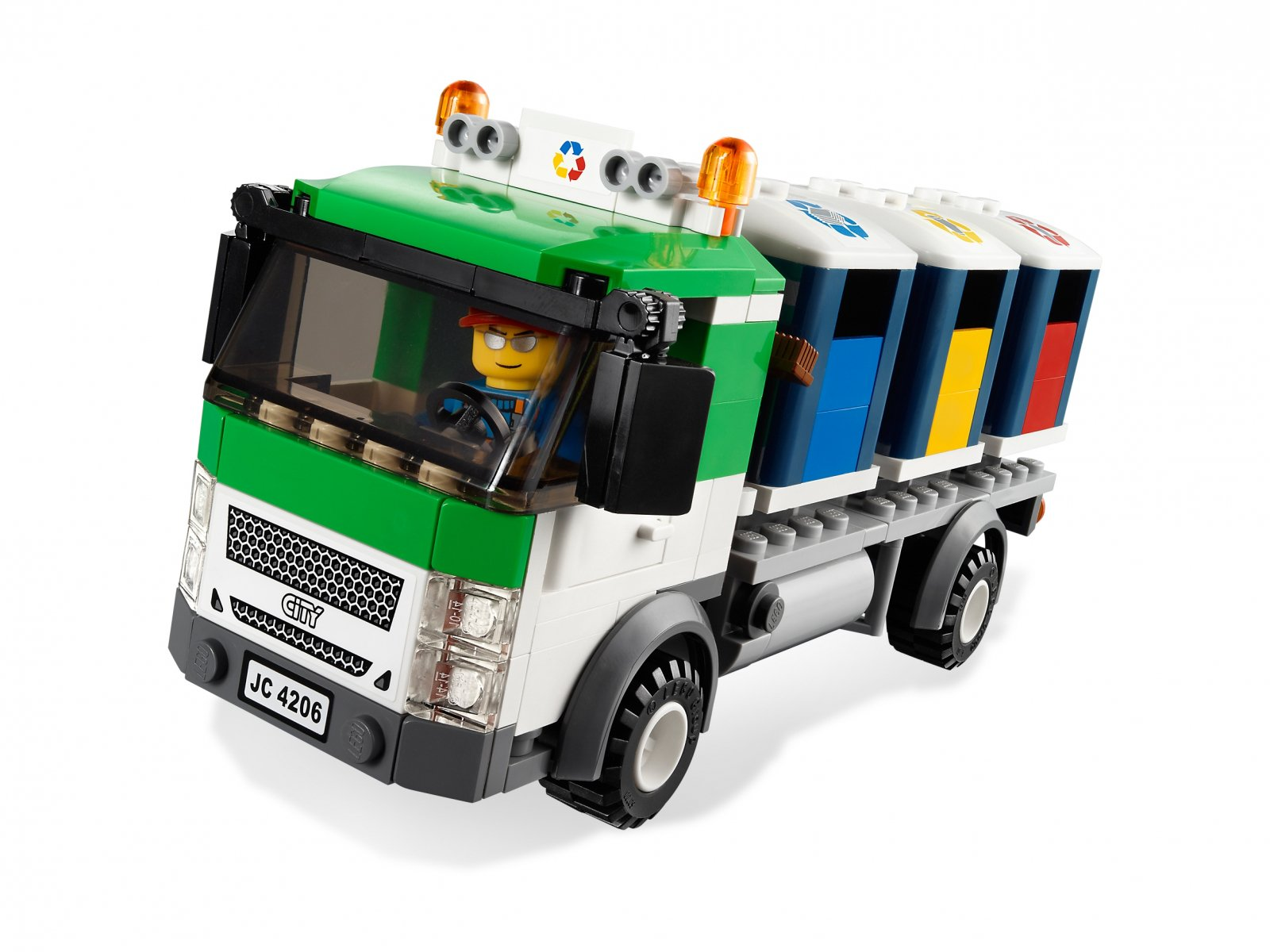 LEGO City Recycling Truck 4206