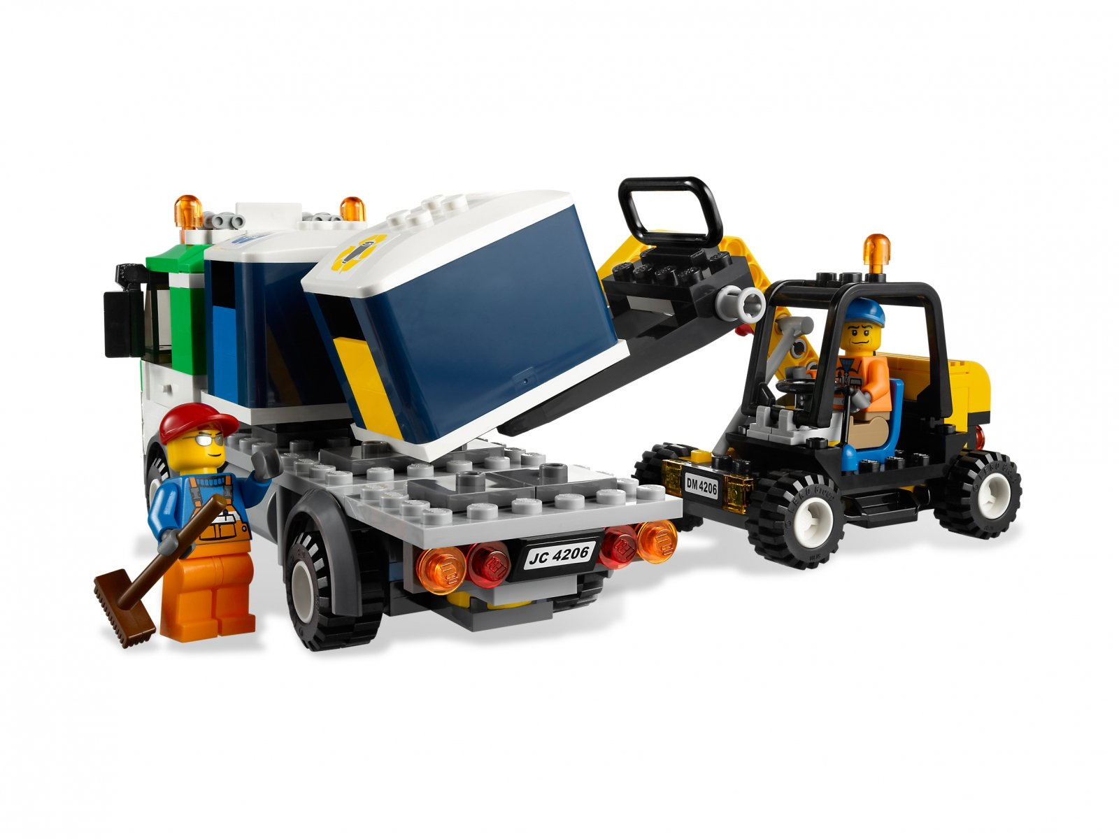 LEGO City 4206 Recycling Truck
